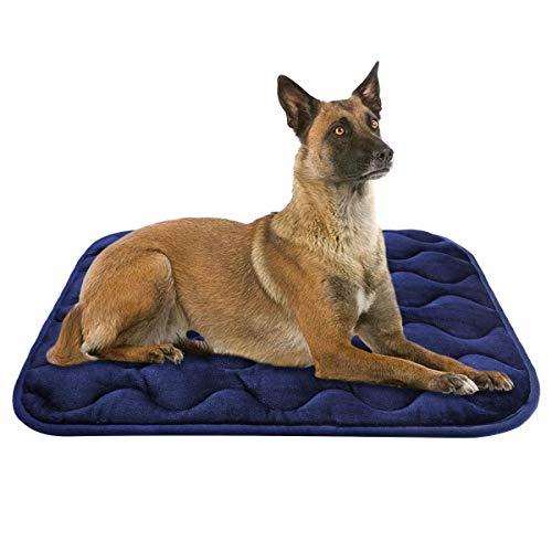 AIPERRO Dog Crate Pad Washable Dog Bed Mat Dog...