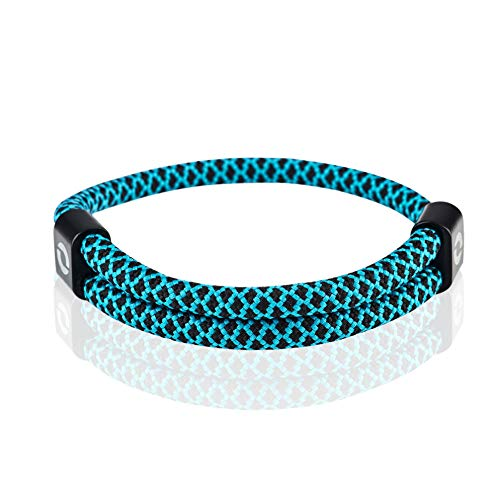 Light Blue Paracord Bracelet | Surfer Gift | Aqua Color 10