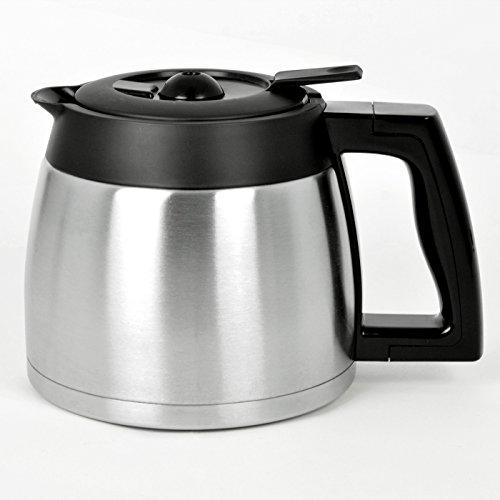 BEEM D2000669 Isolierkanne mit Deckel Fresh-Aroma-Perfect Thermolux, Kaffeemaschine mit Mahlwerk