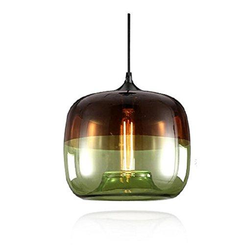 EasyGame-Unique Optic Contemporary Lámpara de cristal soplada a mano, accesorios de iluminación...