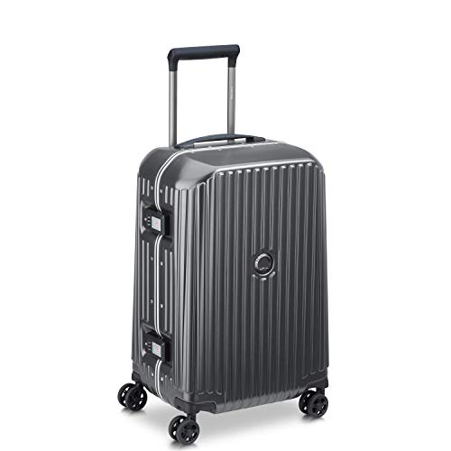Safety Frme Trolley Suitcase with 4 Double Wheels 55 cm