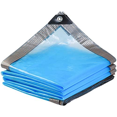 XXIOJUN Toldos Impermeables Lona Impermeable Espesar Y Plegable Se Utiliza para Cubrir Jardines, Balcones, Almacenes Abiertos. (Color : Claro, Size : 2x8m)
