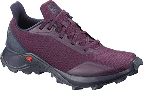 Salomon Damen Trail Running Schuhe, ALPHACROSS W, Farbe: lila (potent purple/navy blazer/india ink) Größe: EU 38