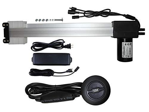 with USB Okin Refined-R Recliner and Lift Chair Motor Model JLDQ-11 Part # JLDQ.11.156.333 (JLDQ-11 Part # JLDQ.11.156.333 K Kit)