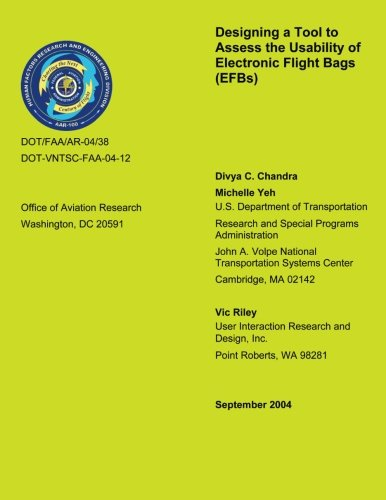 Designing a Tool to Assess the Usability of Electronic Flight Bags
