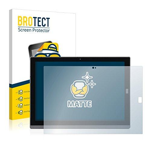 BROTECT 2X Entspiegelungs-Schutzfolie kompatibel mit Wortmann Terra Pad 1270 Bildschirmschutz-Folie Matt, Anti-Reflex, Anti-Fingerprint