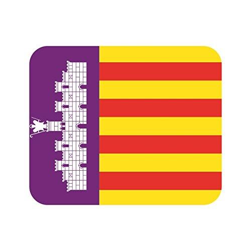 U24 muismat textiel Mallorca vlag mousepad