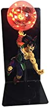 DragonBall Son Goku (Kakarotto) Figure Ka Me Ha Me Ha Creative Table Lamp Led Table Lamp Toy (Color : Red)