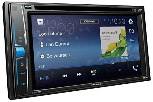 PIONEER AVH-A215BT Multimedia AV CAR Receiver CD/DVD/USB Player AVH-A215BT Double DIN 6.2' WVGA Touchscreen with Bluetooth & Remote