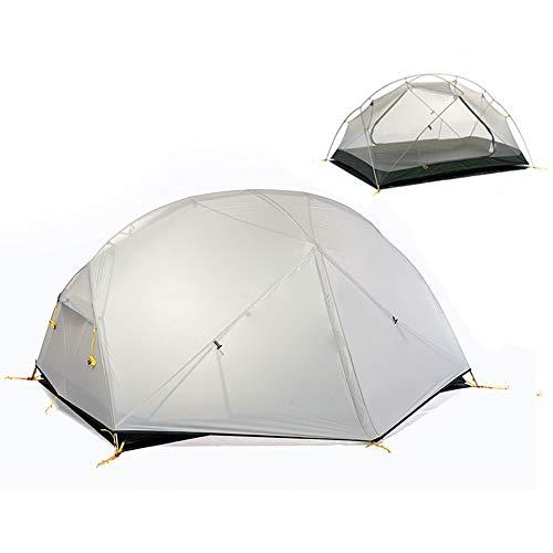 JooGoo Outdoor 2-3 Personen Dome Tent Ultra Licht Camping Automatische Dubbele Riot Verdikking Vier Seizoen Tent