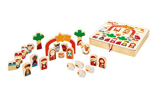 Sevi 82640 - Play Puzzle Natale