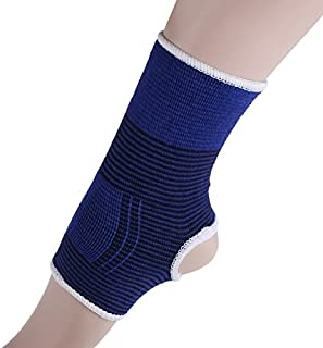 HealthyNeeds ROBESBON 2pcs/set Safety Ankle Brace For Gym Running Protection Cloth Foot Bandage