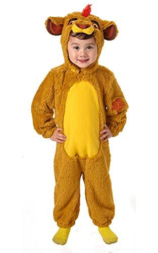 Disney - Disfraz del Rey Len Deluxe para beb, infantil 6-12 meses (Rubies 620649-I)