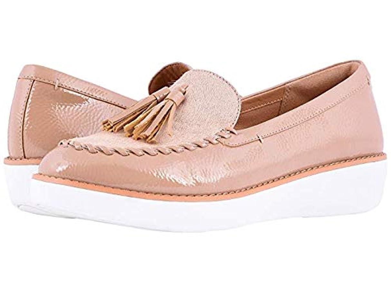 ゲスト慈悲スイング[FitFlop(フィットフロップ)] レディースローファー?靴 Petrina Faux Pony Moccasin Taupe US 7 (24cm) M (B) [並行輸入品]