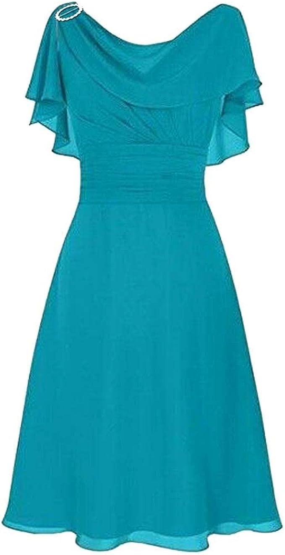 LOPILY Abendkleid Große Größen Damen Rüschen Kurzarm V Ausschnitt Cocktail  Kleid Hohe Taillen Rückenfreies Kleid Übergrößen Festliche Kleider für ...