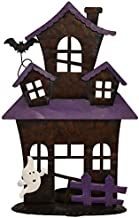 black metal haunted house