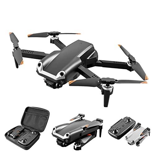 JJDSN Drone con cámara Dual 4K HD para niños, Adultos, Principiantes, FPV, Video en Vivo, Plegable, RC, cuadricóptero, helicóptero, Juguetes, evitación de obstáculos, retención de altitud, voltere