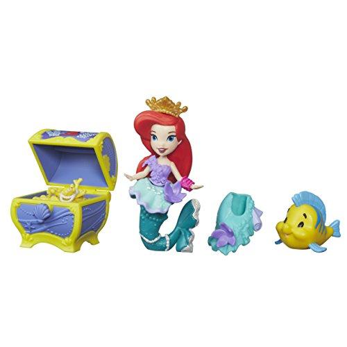 Hasbro Disney Prinzessin B5336ES0 - Disney Prinzessin Little Kingdom Arielles Schatztruhe, Figuren