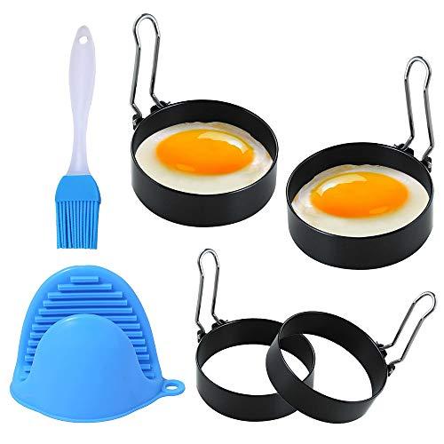 Anillo de Huevo, Anillos de Huevo Antiadherentes, Egg Rings