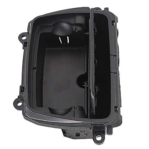 cenicero Nueva Caja De Montaje De Cenicero De Consola Central De Plástico Negro Apta Para Bmw Serie 5