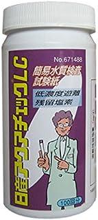 日産化学工業 残留塩素試験紙 アクアチェックLC 100枚入