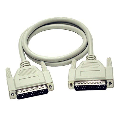 C2G 1m DB25 RS232 Stecker auf Stecker Parallel-Drucker-Verlängerungskabel
