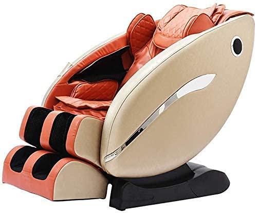 PIAOLIGN Sillón de Masaje Masaje Cenicero 3D Masaje Eléctrico Silla Manipulador Espacio Cápsula Sofá Sofá Reclinable Relaxing Massager-Cero Gravedad, Sistema de Calefacción Jianyou