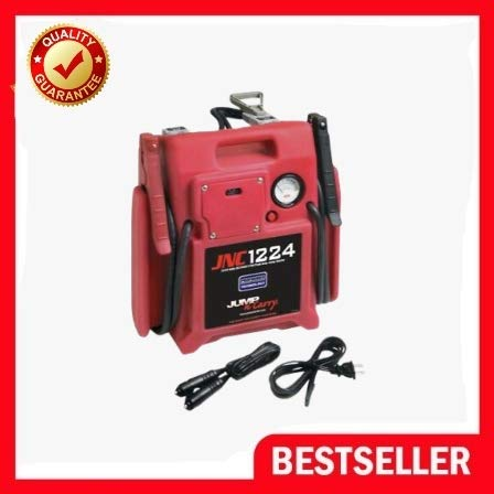 Big Save! Jump-N-Carry 12/24 Volt Jump Starter - 3400 Peak Amps Solar KK JNC1224