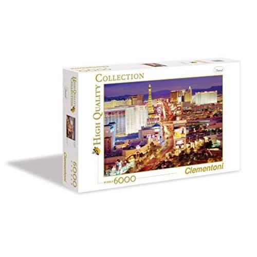 Clementoni Puzzle Las Vegas 6000 pezzi, 36510