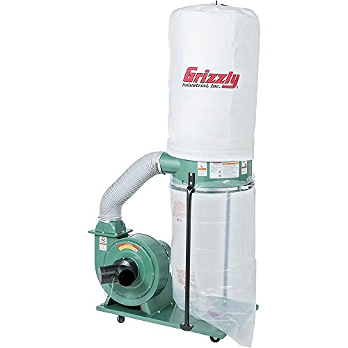 Grizzly Industrial G1028Z2-1-1/2 HP Portable Dust Collector