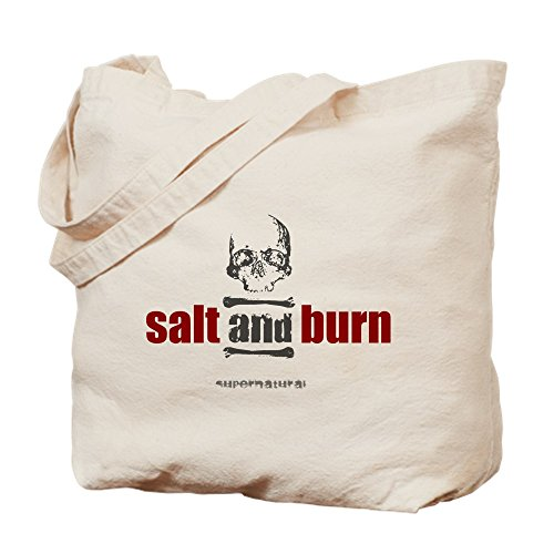 CafePress'einzigartige Design SUPERNATURAL Salz- und Brennen-Standard Tote Bag