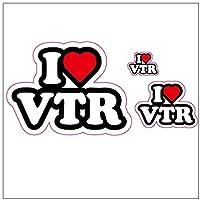 I LOVE VTR ステッカー