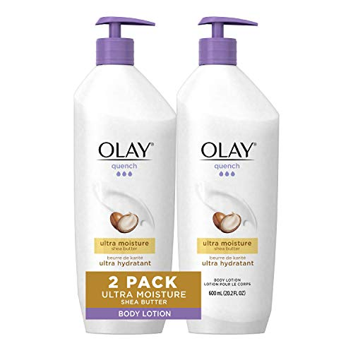 Olay Quench Body Lotion Ultra Moisture with Shea Butter and Vitamins E and B3 202 oz Pack of 2