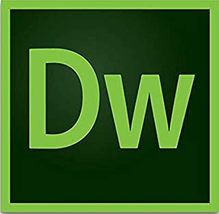 Adobe Dreamweaver | Website and web design software | 12-month Subscription with auto-renewal, billed monthly, PC/Mac