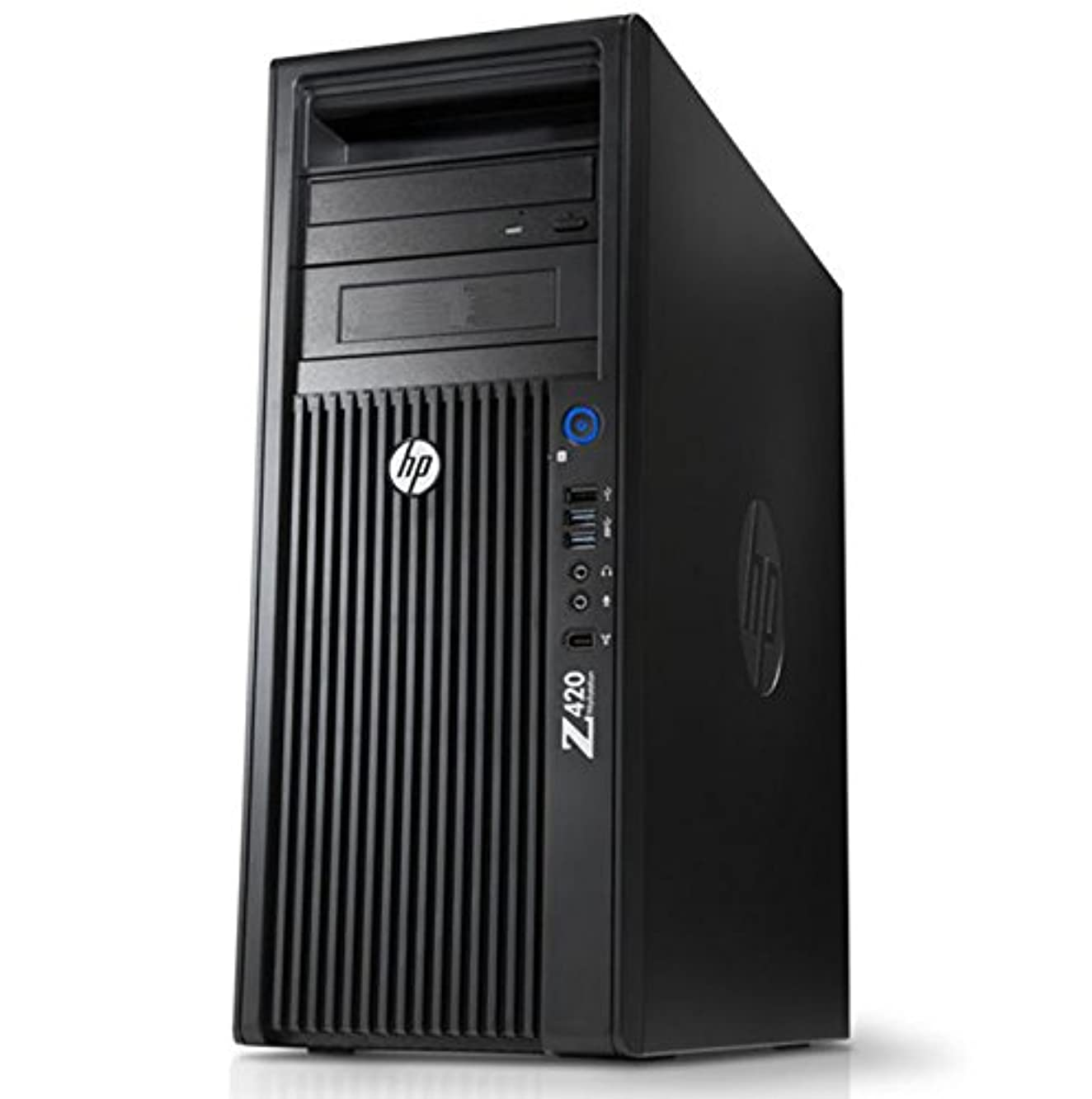 Xeon 4-Core 3D Modeling HP Z420 Workstation AutoCAD System, E5-1607 3.0GHz, 2TB 7200rpm HDD, 64GB DDR3 Ram, 8GB Nvidia Quadro P4000, Windows 7 Pro(Certified Refurbished)