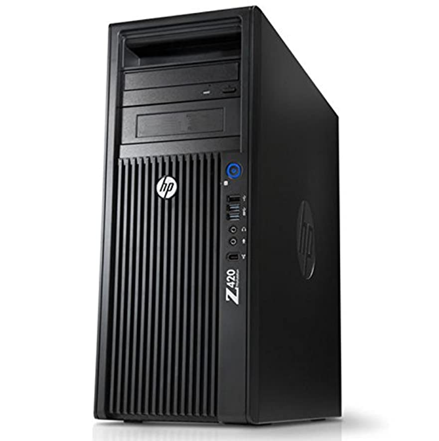 Xeon 4-Core 3D Modeling HP Z420 Workstation AutoCAD System, E5-1607 3.0GHz, 2TB 7200rpm HDD, 48GB DDR3 Ram, 8GB Nvidia Quadro M4000, Windows 7 Pro(Certified Refurbished)