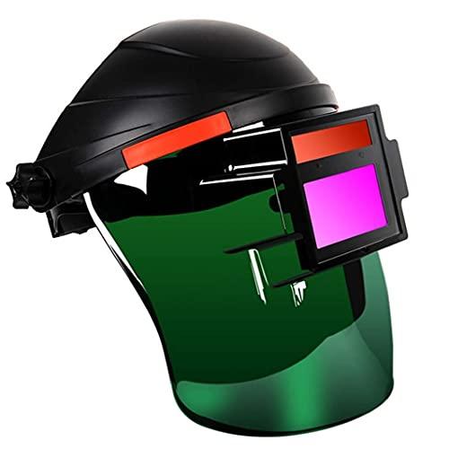 Soldadura Casco Soldadura Casco Face Shield Head Montado Ojo Seguridad Protector Plasma Trabajo Argón Arco Soldador Equipo Accesorios