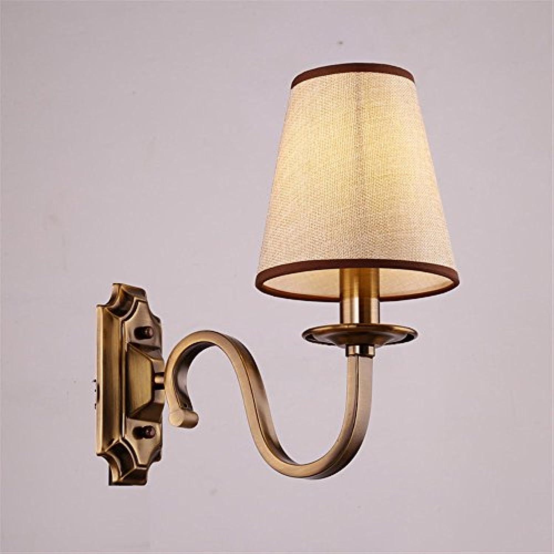 StiefelU LED Wandleuchte nach oben und unten Wandleuchten Leiter der Bett-LED Wandleuchte post Kupfer Eisen Wohnzimmer Schlafzimmer licht Straenarbeiten Wandleuchten, einem Kopf