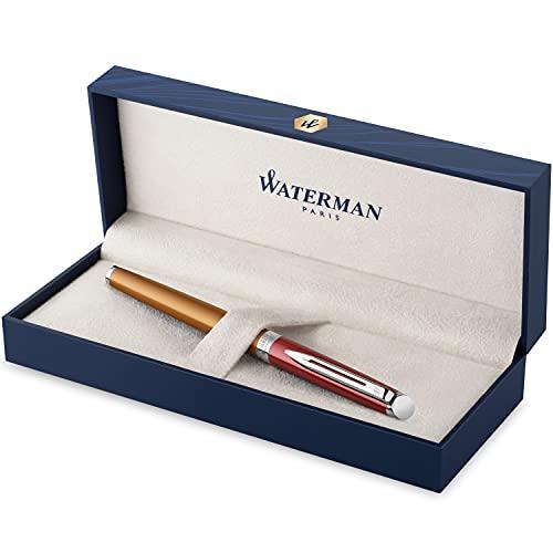 Waterman penna roller | Hémisphère French Riviera Collection | Promenade Vermillon | Punta fine | Confezione regalo
