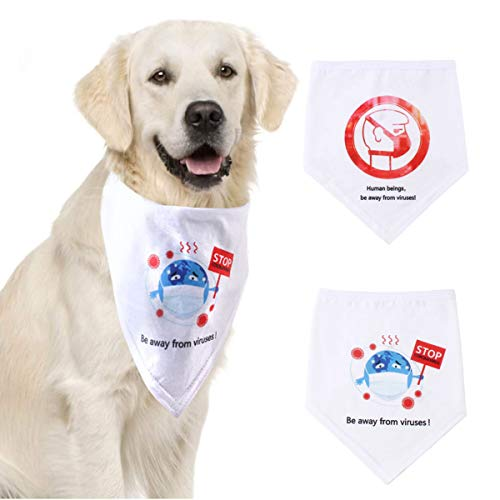 Borlai Halloween Dog Bandana Pet Saliva Towel Triangle Pet Collar Christmas...