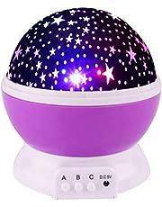 Meerdere Kleuren 360 Graden Rotatie Ster Projector Nachtverlichting Voor Kinderen - Beste Cadeaus