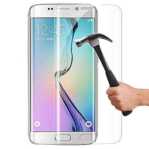 Lapinette Vetro Temperato Compatibile con Samsung Galaxy S6 Edge Plus - 2 Pezzi - Pellicola Protettiva Vetro Temperato - Protezione Vetro Temperato 9H Force Glass - Protezione Schermo Ultra Resistente