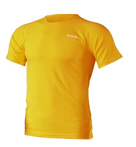 WOWOW Dark 2.0 - Reflector de Running, Color Naranja, Talla S