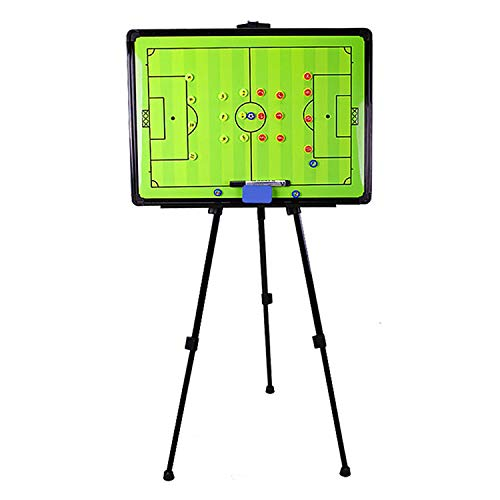 Boards Magnetic Soccer Coaches Clipboard, Portable Professional Soccer Tactics Coaching, Coach Tactic Strategy Match Plan 60X45CM