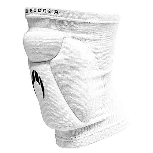 HO Soccer Rodillera Atomic White Deportivas, Adultos Unisex, Blanco, L
