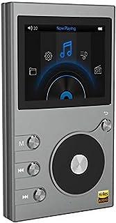 8GB Mp3, Hi-Fi Lossless Music Player Radio Recorder Radio FM 2 Display LCD Supporto TF Card