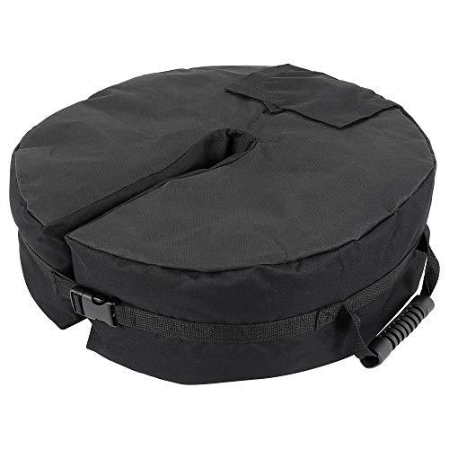 willkey Patio Umbrella Base Weight Bag 18' Round Sand Stand Detachable Weatherproof Parasol Umbrella Weights Sand Bags,...