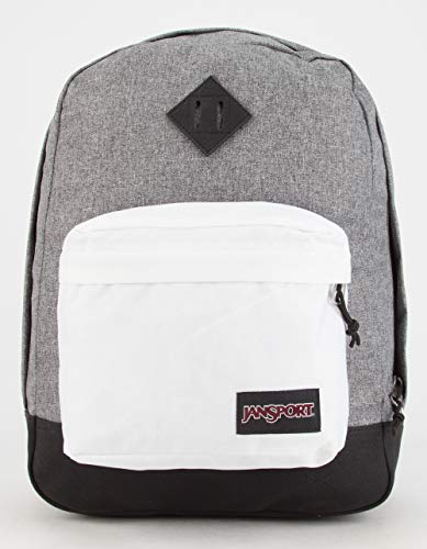 JANSPORT Super FX Backpack, Black/white
