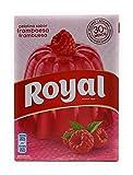 Royal, Gelatina en Polvo, Sabor Frambuesa, 30% Menos Azúcares, 114 g