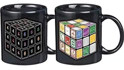 Espacio Gadget Taza TERMOSENSIBLE Cubo Rubik